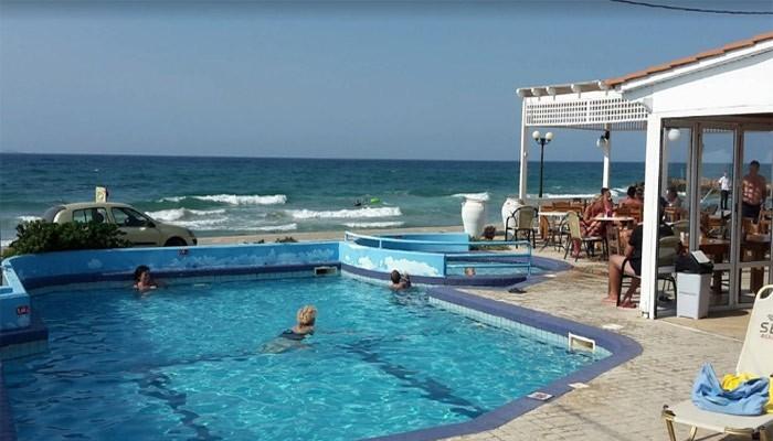 Coralli Beach Hotelв деревне Трапсано на Крите