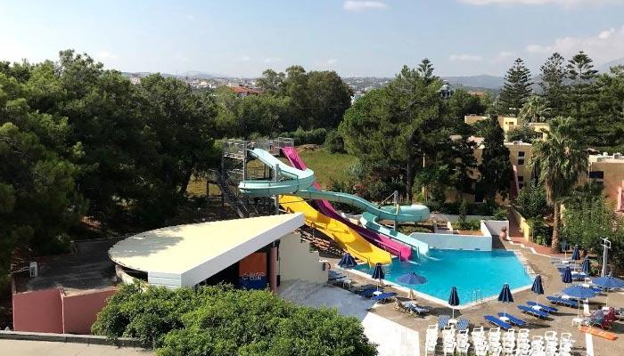 Отель Dessole dolphin bay resort 4* в деревне Амудара на Крите