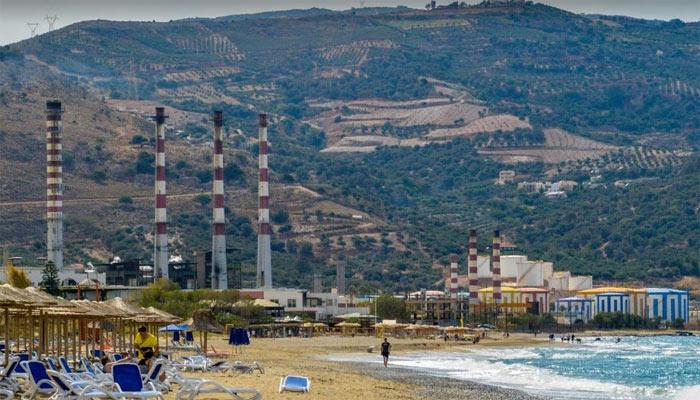 Электростанция в Амударе на Крите