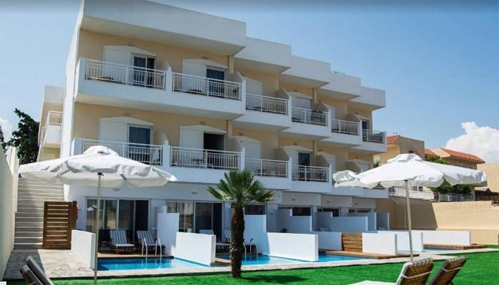 Lavris Hotels & Spa в деревне Трапсано на Крите