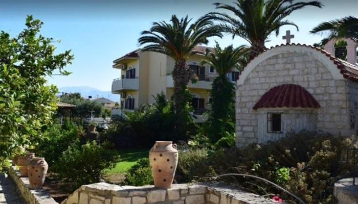 Отель Лили в деревне Амудара на Крите