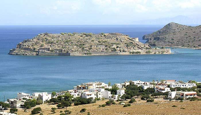 Фото города Плака на Крите