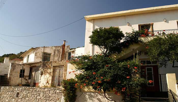 Городок Спили на острове Крит.
