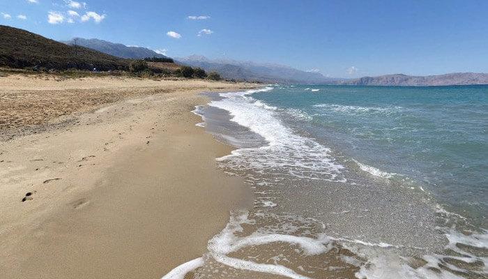 Пляж Эпископи на острове Крит