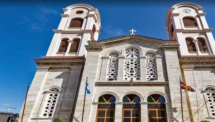 Церковь Ekklisia Profitis Ilias в деревне Эпископи на Крите