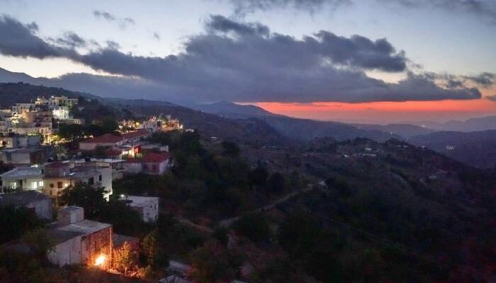 Интересная деревня Анойя (Аногия) на Крите.