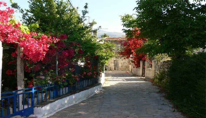 Эпископи традиционная критская деревня.