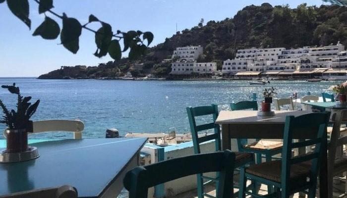 Ресторан Pavlos в деревне Лутро на Крите