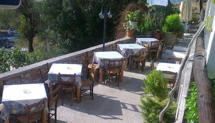 Ресторан Stratis в поселке Лутро на Крите