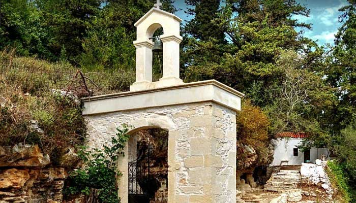 Церковь Пяти Святых Дев вблизи Аргируполи на Крите