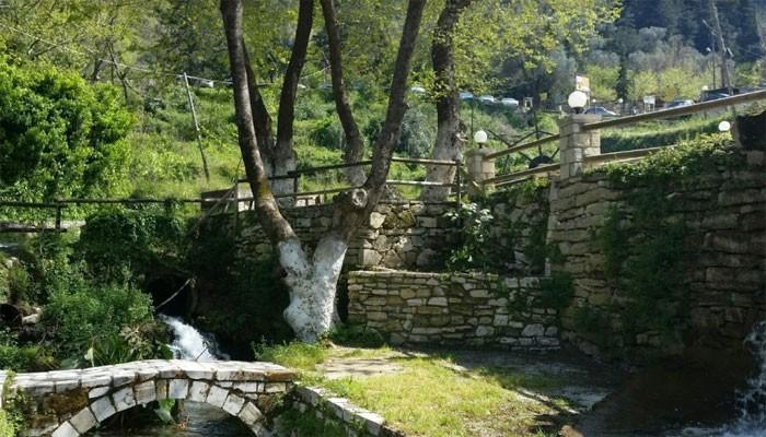 Источники в Аргируполи на Крите
