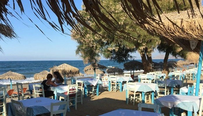 Таверна Maleme Beach в Малеме на Крите