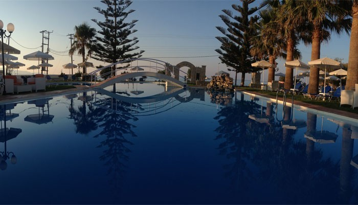 Отель в Малеме на Крите