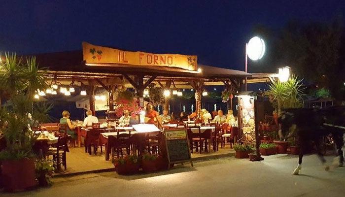 """Ресторан """"II Forno"""" в Каливесе на Крите"""