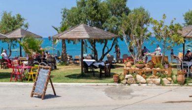 Семейная таверна в Малеме на острове Крит