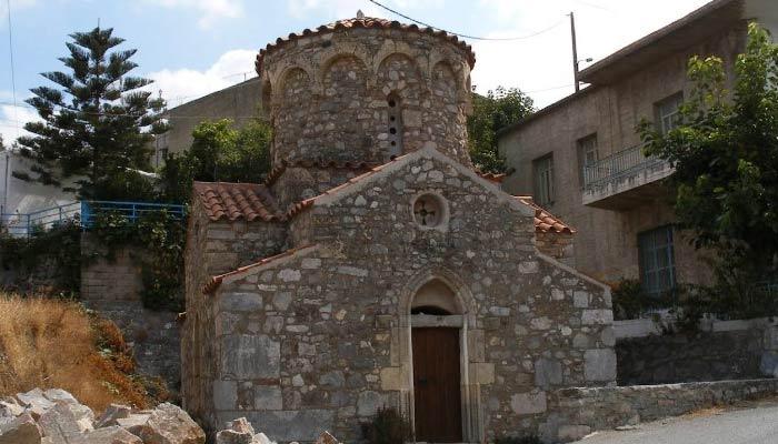 Святилище посвященное Афродите в Аксосе на Крите