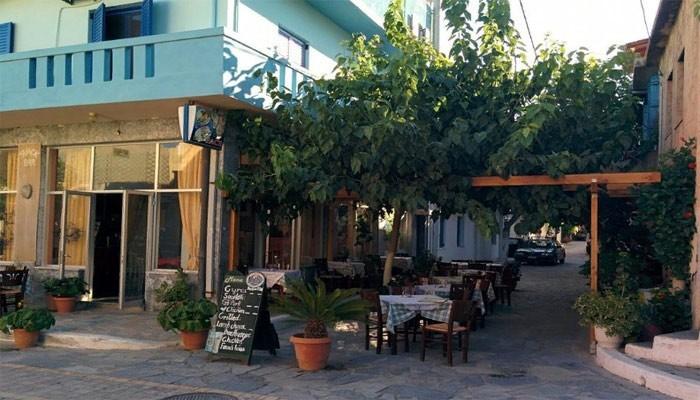 Ресторан в городе Миртос на Крите