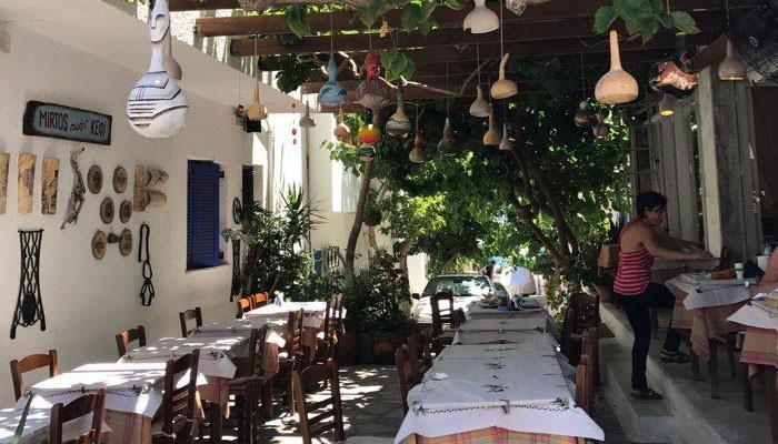 Миртос- приморская тихая деревушка на Крите.