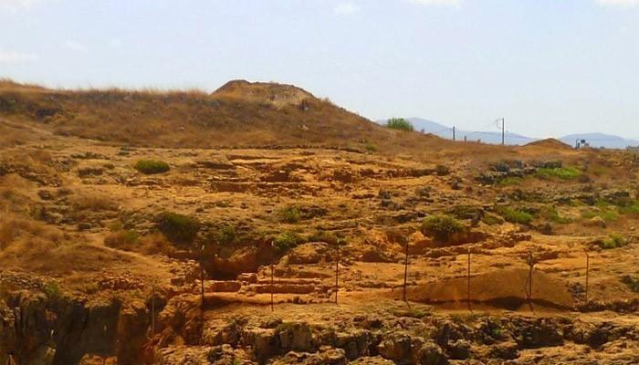 Останки резиденции правителей Миносского царства на Крите