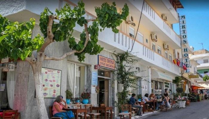 Отель Миртос 2* в деревне Миртос на Крите
