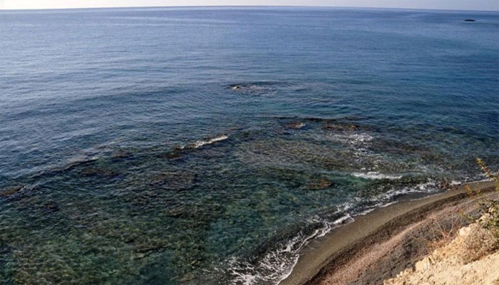 Пляж Ватос в деревне Миртос на острове Крит