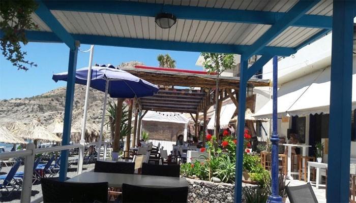 Ресторан Фаласса деревне Миртос на Крите