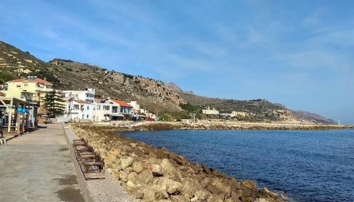 Деревня Колимбари - размеренный отпуск среди оливковых плантаций.