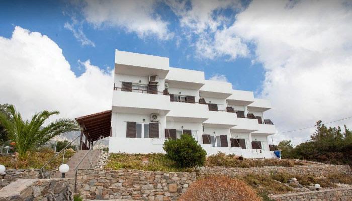 Семейный отель Glykeria в Элафониси на Крите