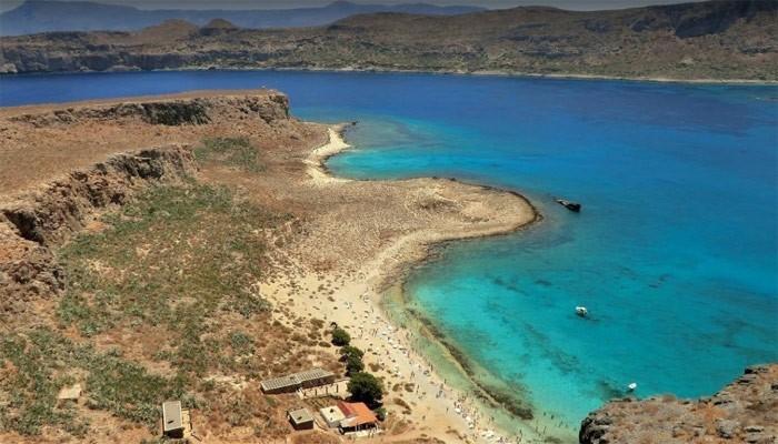Необитаемый остров Грамвуса на Крите