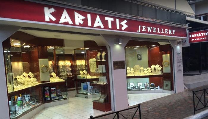 Ювелирный магазин Kariatis Jewellery в Платаньясе на Крите