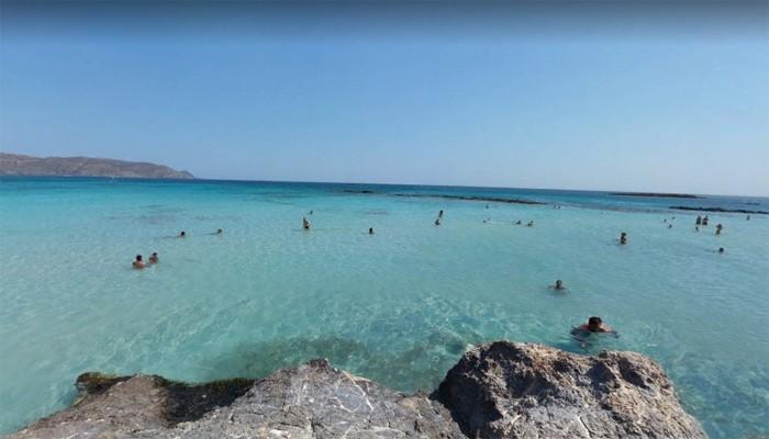 Пляж Элафониси на Крите