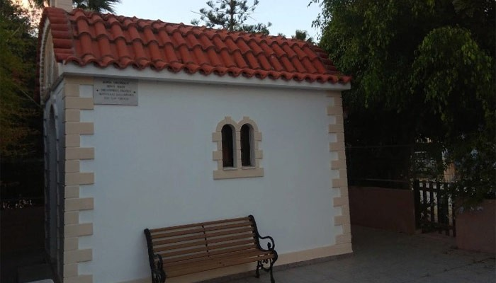 Греческая православная церковь Orthodox Chapel Agia Marina в Платаньясе на Крите