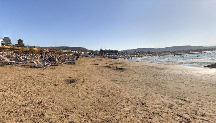 Фото пляжа Гувес на острове Крит