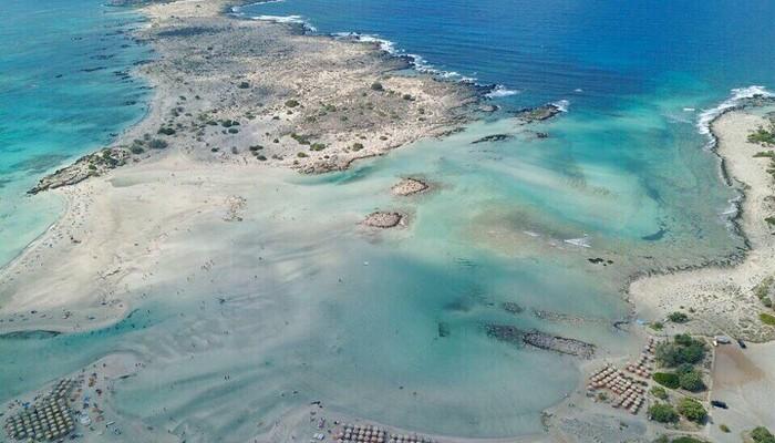 Элафониси — один из самых красивых пляжей Крита.