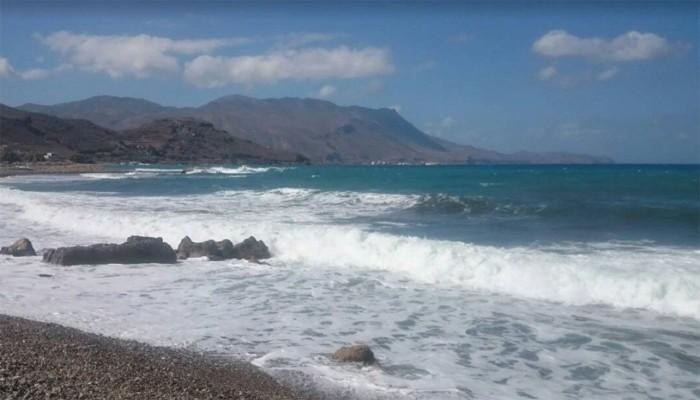 Пляж Ливадия на Крите