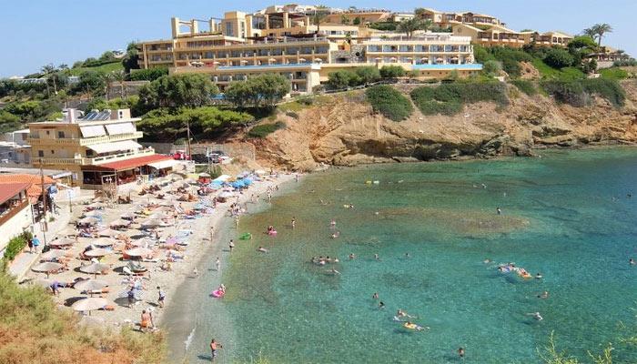 Пляж Мононафтис на Крите