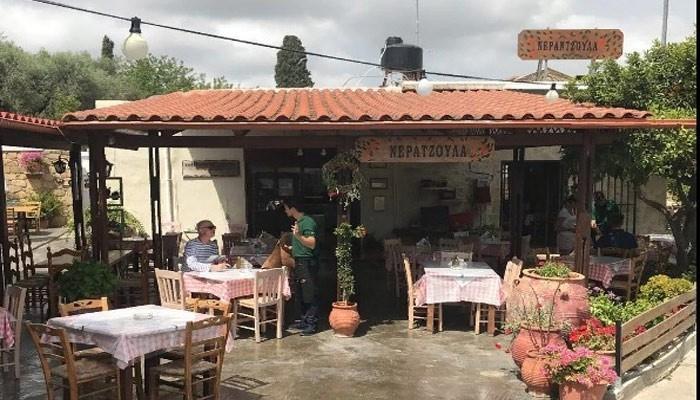 Таверна Neratzoula в Киссамос на Крите