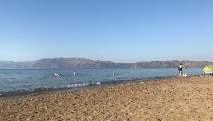 Пляж Telonio beach на Крите