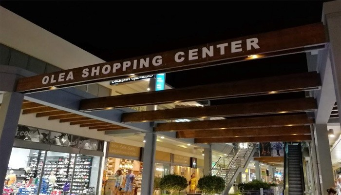 Торговый центр OLEA в Платаньясе на Крите