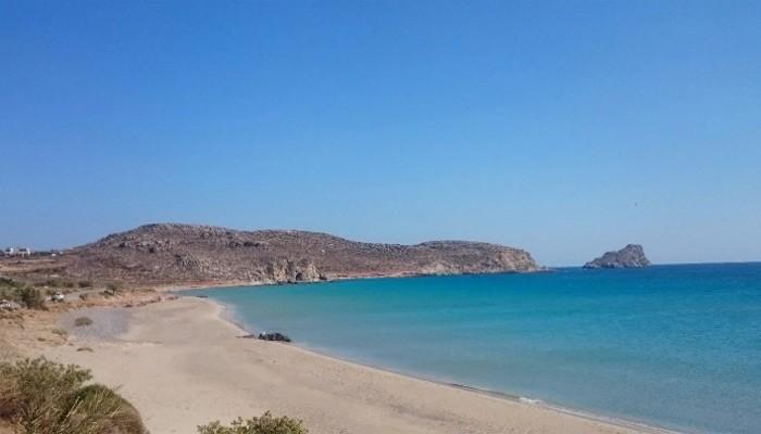 Ксерокамбос: пляж без толп людей и инфраструктуры на Крите.