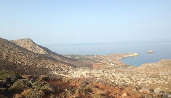 Фото пляжа Ксерокамбос в нома Лассити на Крите
