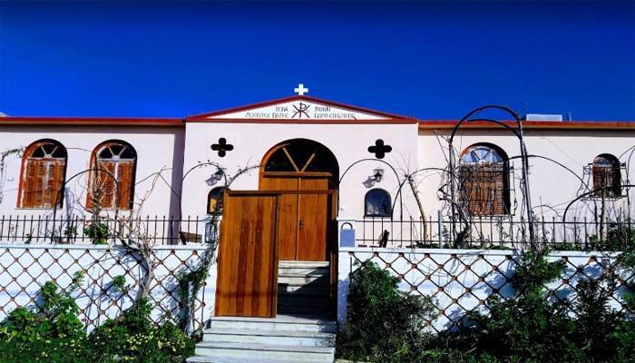 Женский монастырь Zoodoxos Pigi Parthenos Holy Convent на Крите