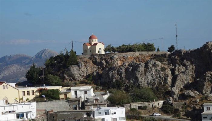 Церковь Экклесия Панагия на Крите