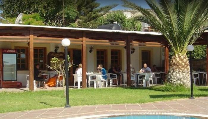 Отель Dimitris Villa на курорте Матала на Крите