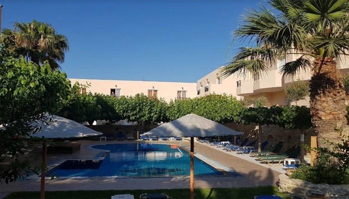Отель Калипсо в Матале на острове Крит