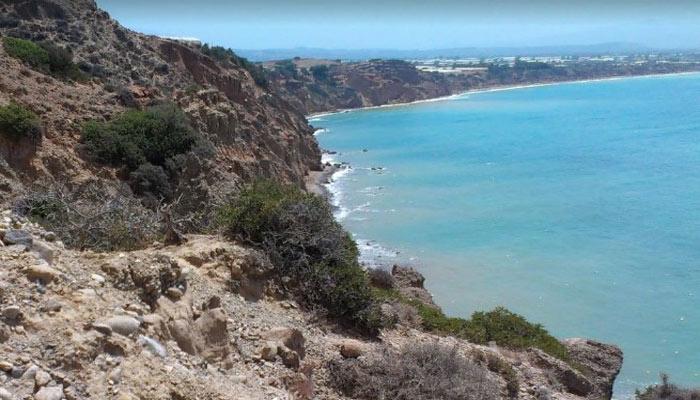 Пляж Kakoskala в Агия Галини на Крите