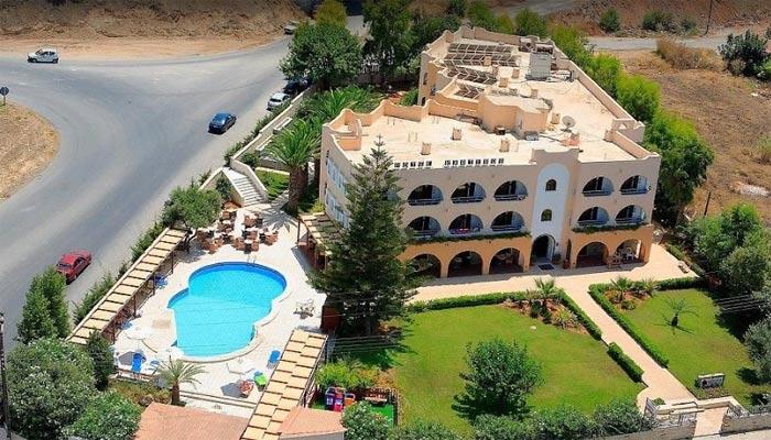 Отель Karteros в поселке Картерос на Крите