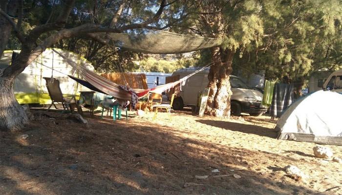 Matala Camping в Матала на Крите
