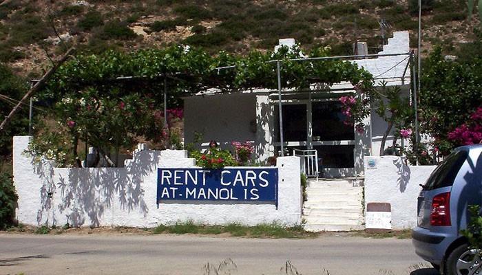 Прокат автомобилей MANOLIS RENT A CAR в Матале на Крите