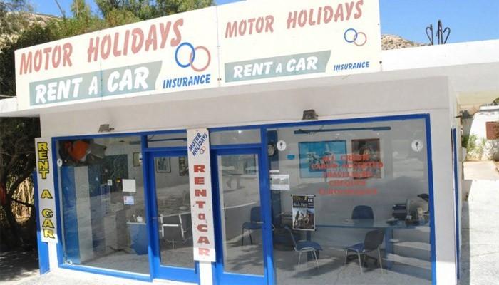 Прокат автомобилей Motor Holidays в Матала на Крите